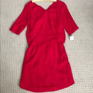 NWT Sandro double layered dress size 3